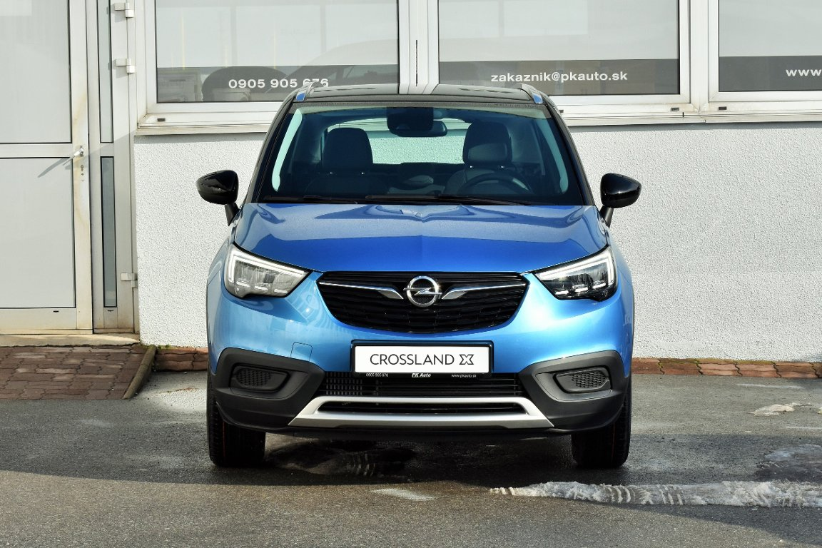 PK AUTO, spol. s r.o. | Fotografie vozidla Opel Crossland X Innovation 1.2 Turbo AT6
